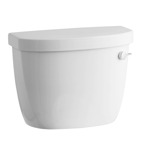 Kohler Cimarron 1.28 Gpf Toilet Tank with Right-Hand Trip Lever