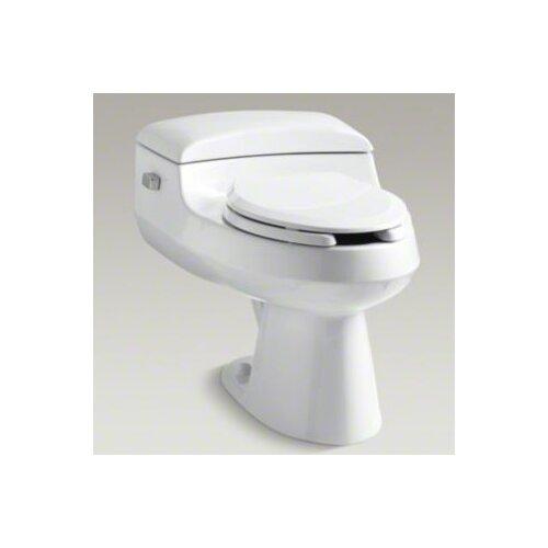 Kohler San Raphael Comfort Height Pressure Lite 1.0 Gpf Elongated Toilet