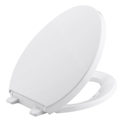 Saile Quiet-Close Quick Release Elongated Toilet Seat