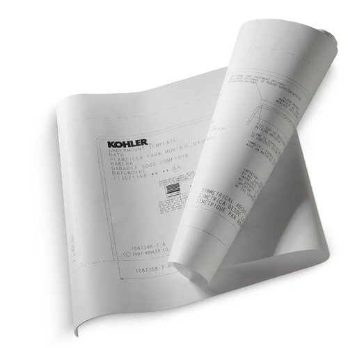 Kohler Underscore 5.5' Undermount Installation Kit