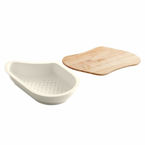 Colander/Cutting Board Fits 9-1/4