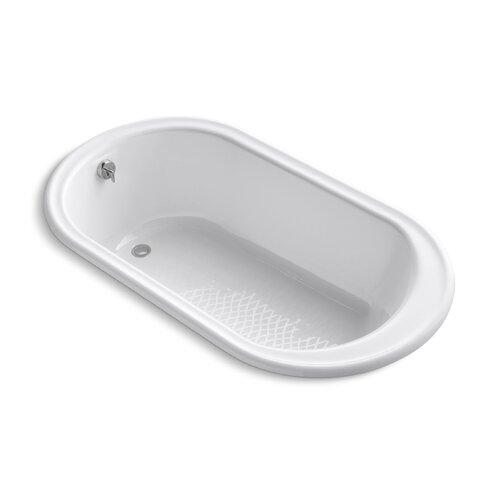 "Kohler Iron Works 66"" X 36""  Drop-In Bath with Center Drain"