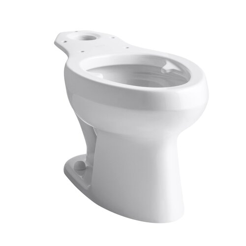 Kohler Wellworth Pressure Lite Toilet Bowl with Bed Pan Lugs