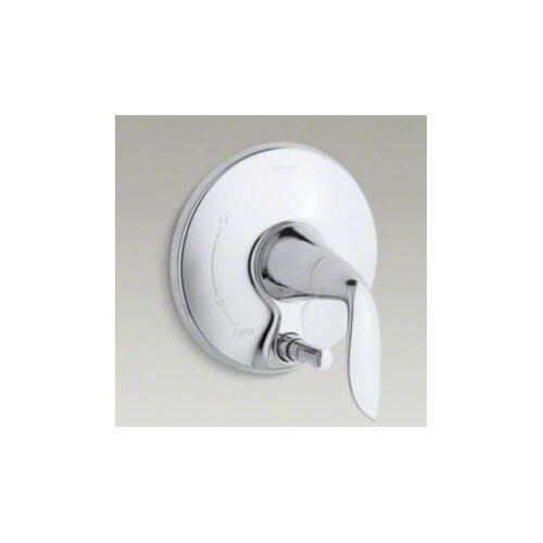 Kohler Refinia Valve Trim with Push-Button DIVerter, Valve Not Included