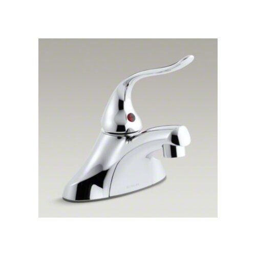 Coralais Single-Control Centerset Lavatory Faucet with 5