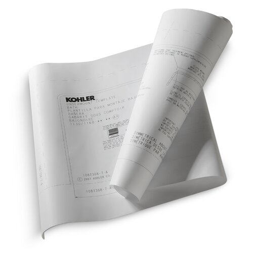 Kohler Tea-For-Two Undermount Installation Kit for Use with Tea-For-Two 6' Bath and Whirlpool