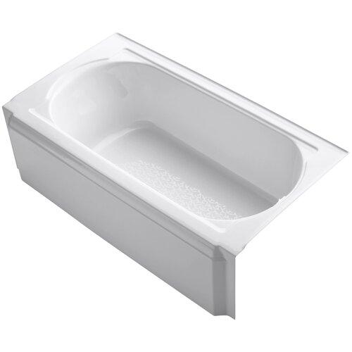 "Kohler Memoirs 60"" X 34"" Alcove Bath with Right-Hand Drain"