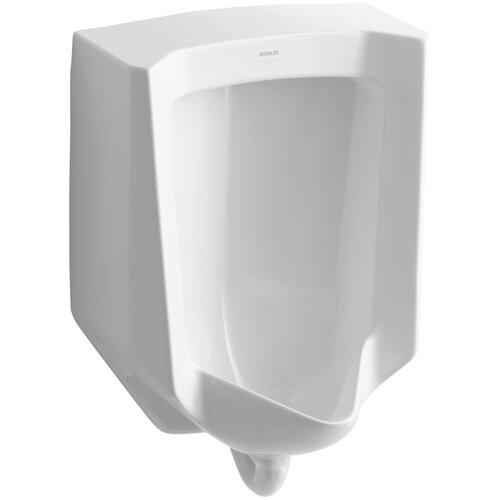 Kohler Bardon 1/8 Gpf Urinal with Rear Spud