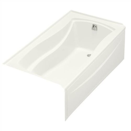 "Kohler Mariposa 66"" X 36"" Alcove Bath with Integral Apron and Left-Hand Drain"
