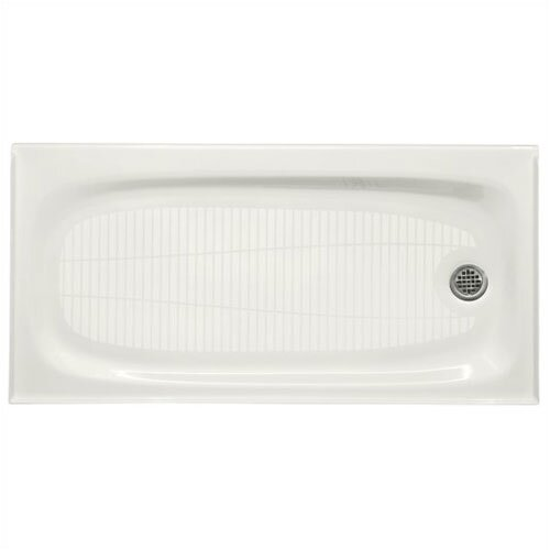 "Kohler Salient 60"" x 30"" Receptor with Right-Hand Drain"