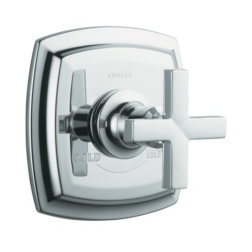 Kohler Margaux Thermostatic Valve Trim with Cross Handle, Valve Not Included