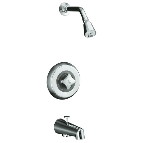 Kohler Triton Rite-Temp Pressure-Balancing Bath and Shower Faucet Trim with Standard Handle