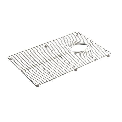 """Kohler Indio Stainless Steel Sink Rack, 24-3/8"""" x 15"""""""