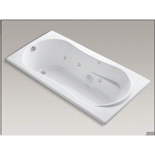 "Kohler 7236 72"" X 36"" Drop-In Whirlpool Bath with Custom Pump Location"