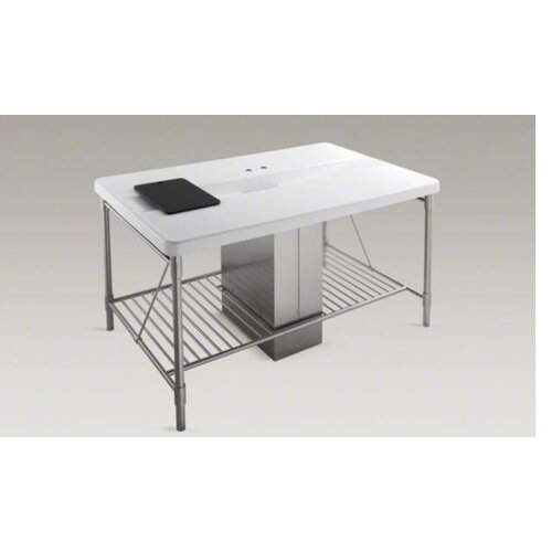 Kohler Table Base and Plumbing Shroud For K-6417