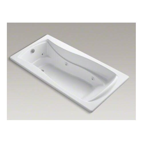 "Kohler Mariposa 72"" X 36"" Drop-In Whirlpool with Reversible Drain, Custom Pump Location and Heater"