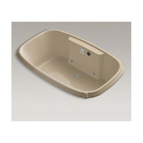 "Kohler Portrait Bubblemassage 67"" X 42"" Drop-In Whirlpool Bath with Chromatherapy"