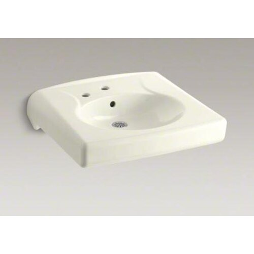 Brenham Wall-Mount Lavatory with Single-Hole Drilling and Left-Hand Soap Dispenser Hole