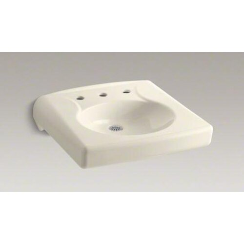 Brenham Wall-Mount Lavatory with 8