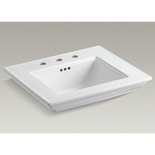 "Kohler Memoirs Lavatory Basin with Stately Design and 8"" Centers"