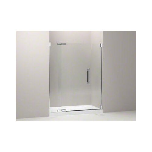 "Kohler Purist 57.25"" - 59.75"" Pivot Shower Door with 0.5"" Crystal Clear Glass"