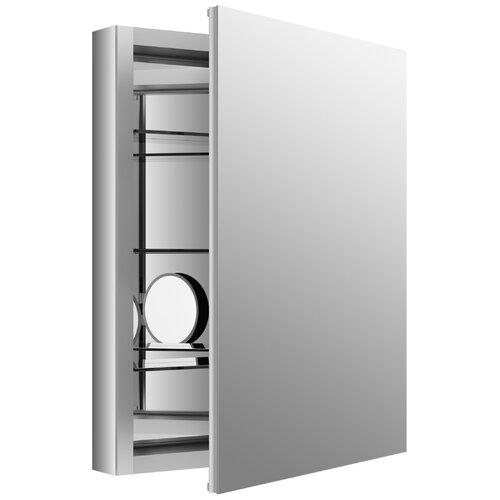 kohler verdera 24 w x 30 h aluminum medicine cabinet with adjusta
