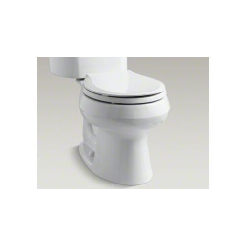 "Kohler Wellworth 1.28 GPF Two-Piece Round Toilet with 14"" Rough In"