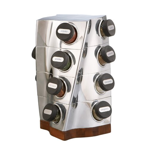 Nambe Twist Spice Rack