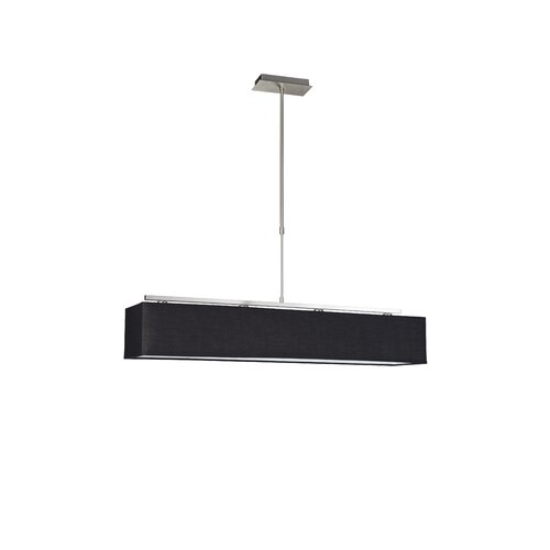 Four Light Lamp in Black