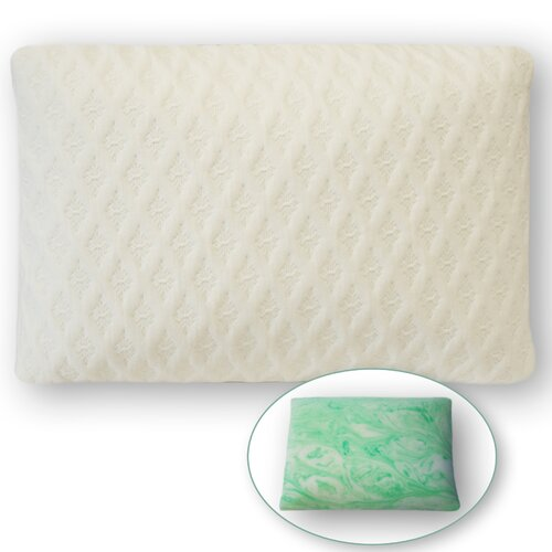 Eclipse Perfection Rest Gelwrap Memory Foam Classic Shape Pillow