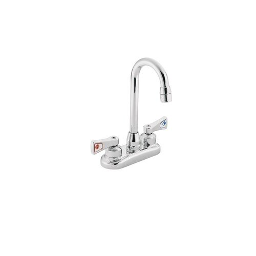 Commercial Two-Handle Centerset Kitchen Faucet