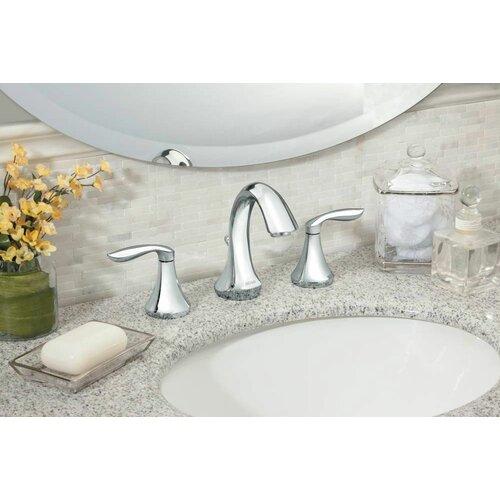 Moen Eva Widespread Bathroom Faucet with Two Handles