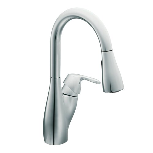 Moen Medora One Handle Single Hole High Arc Kitchen Faucet