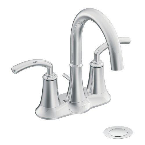 Moen Icon Centerset Bathroom Faucet with Double Handles