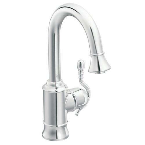 Woodmere Single Handle Single Hole Pull-Out Kitchen Faucet