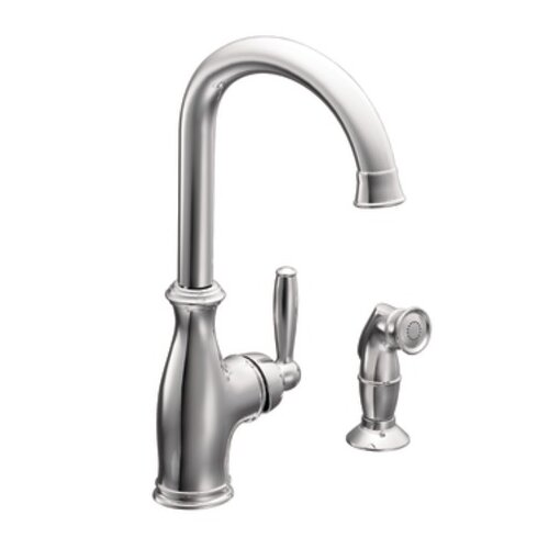 Moen Brantford Single Handle High Arc Kitchen Faucet