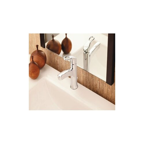 Moen Kleo One Handle Centerset Low Arc Bathroom Faucet