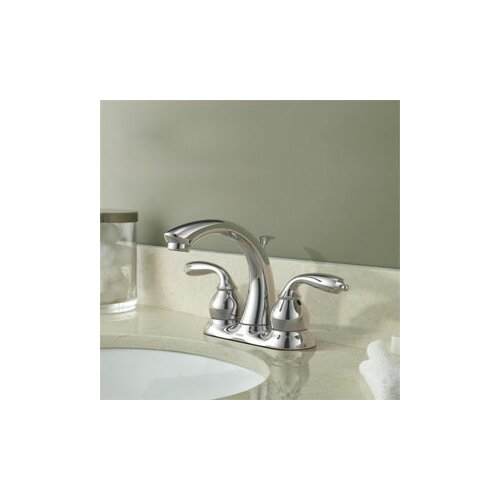 Bayhill Two Handle Centerset Low Arc Lead Compliant Bathroom Faucet