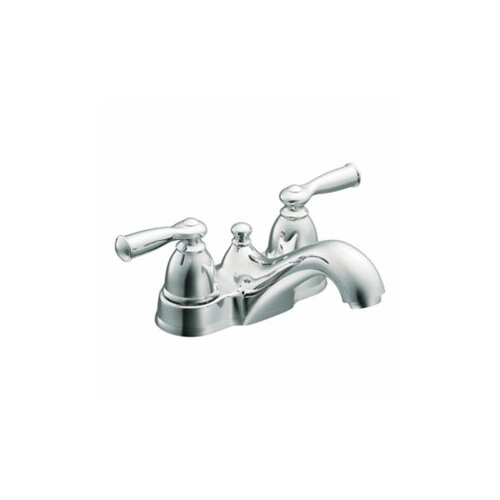 Banbury Two Handle Centerset Low Arc Lead Compliant Bathroom Faucet