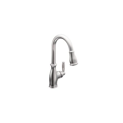 Brantford Single Handle High Arc Pulldown Kitchen Faucet