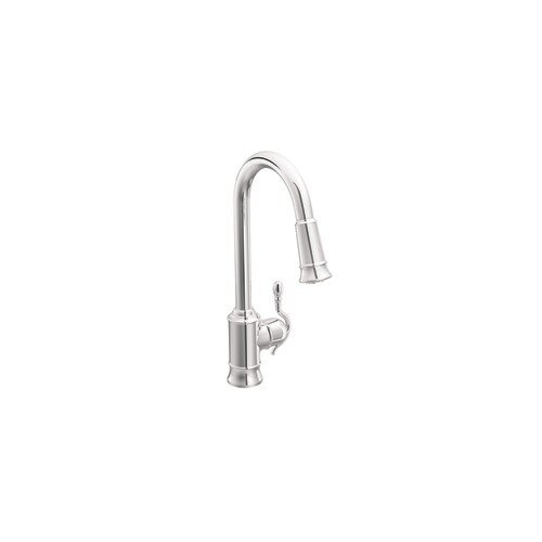 Moen Woodmere One-Handle High Arc Pulldown Kitchen Faucet