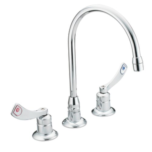 Moen Commercial Widespread Bathroom Faucet with Cold and Hot Handles