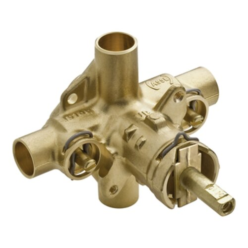 Moen Commercial Valve with Integral Stops