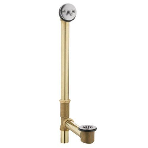 moen replacement parts trip lever leg tub drain reviews