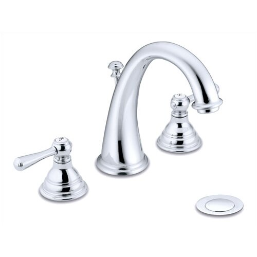 Moen Kingsley Widespread Lavatory Faucet With Double Handles Reviews Wayfair