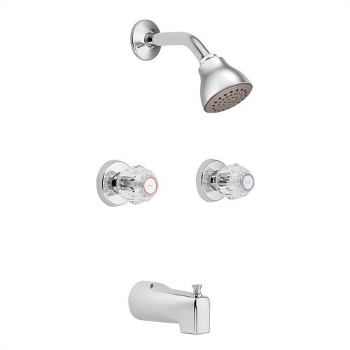 Moen Chateau Thermostatic Tub / Shower Valve and Shower Faucet Trim