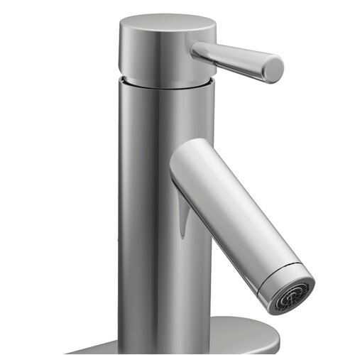 Moen Lever Single Hole Bathroom Faucet with Single Handle