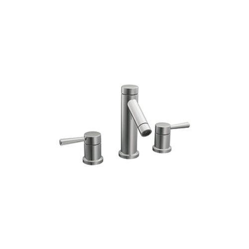 Moen Lever Widespread Faucet with Double Handles