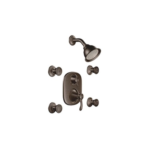 Moen Vestige Vertical Spa Three Function Shower Faucet Trim Set