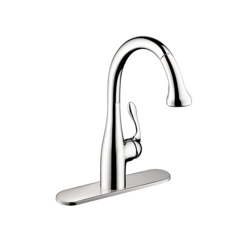 Allegro One Handle Single-Hole Bar Faucet with Full Spray and Needle Spray